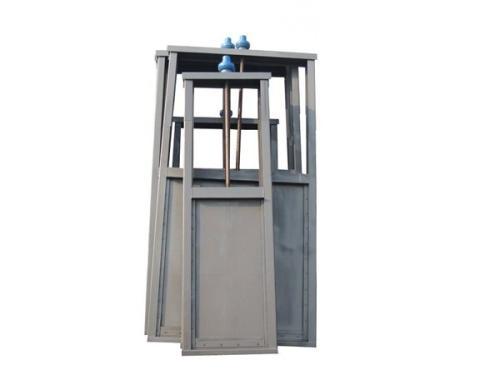 小型不锈钢闸门实图